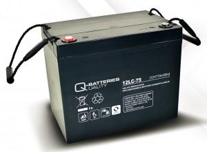 Ersatzbatterie Set für E-Rollstuhl Sopur Power-Serie - 2x 12V 77Ah