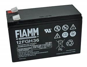 Fiamm 12FGH36 12V 9,0Ah Blei-Akku / AGM Batterie Hochstrom