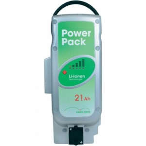 Power Pack Ersatzakkupack für Pedelec Panasonic-Antriebsystem 25,5V / 21Ah