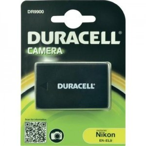 Duracell Digitalkamera und Camcorder Akku DR9900 kompatibel zu Nikon EN-EL9