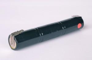 Akkupack Notlicht Notbeleuchtung 3,6V / 1500mAh (1,5Ah) Stabform mit Faston Anschlüssen