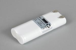 Ni-Cd Akkupack Notlicht Notbeleuchtung 7,2V / 1700mAh (1,7Ah) L3x2 Stab, Faston Anschlüsse