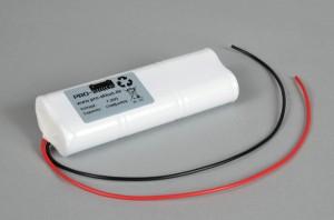Ni-Cd Akkupack Notlicht Notbeleuchtung 7,2V / 1700mAh (1,7Ah) L3x2 Stab mit Kabel