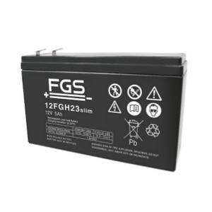 FGS 12FGH23slim 12V 5Ah Blei-Akku / AGM Batterie highrage hochstrom