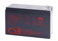 CSB HR1234WF2 12V 34W Blei-Akku / AGM Batterie Hochstrom