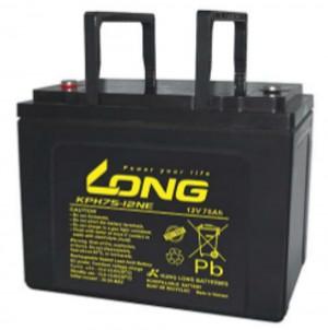 Kung Long KPH75-12NE 12V 75Ah Blei-Akku / AGM Batterie Zyklenfest