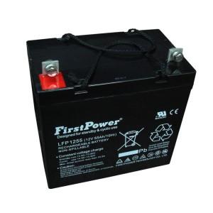 FirstPower LFP1255 12V 55Ah Blei-Akku / AGM Batterie