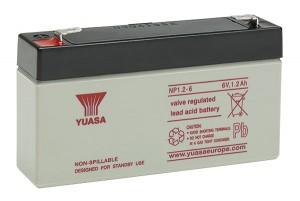 Yuasa NP1.2-6 6V 1,2Ah Blei-Akku / AGM Batterie