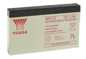 Yuasa NP2-12SL 12V 2Ah Blei-Akku / AGM Batterie