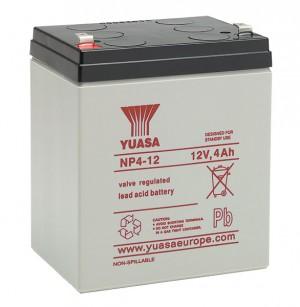 Yuasa NP4-12 12V 4Ah Blei-Akku / AGM Batterie