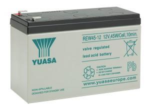 Yuasa REW45-12 12V 9Ah Blei-Akku / AGM Batterie