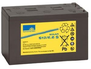 Sonnenschein Solar S12/6,6 S 12V 6,6Ah Blei Gel-Batterie