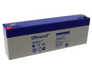 Ultracell UL2.4-12 12V 2,4Ah wiederaufladbare VRLA Batterie Akku VdS