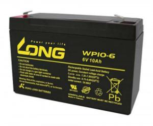 Kung Long WP10-6 6V 10Ah Blei-Akku / AGM Batterie