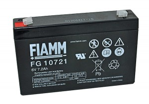 Fiamm FG10721 6V 7,2Ah Blei-Akku / AGM Batterie