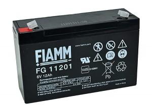 Fiamm FG11201 6V 12Ah Blei-Akku / AGM Batterie