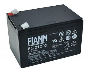 Fiamm FG21202 12V 12Ah Blei-Akku / AGM Batterie