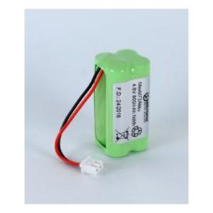 NiMh Akkupack für Mexcel Notleuchte M72 4,8V / 800mAh F2x2 mit Kabel und JST-Stecker