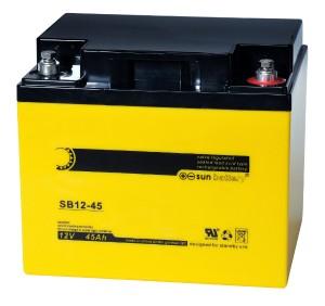 Sun Battery SB12-45 12V 45Ah Bleiakku