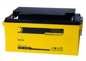 Sun Battery SB12-65 12V 65Ah Bleiakku