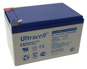 Ultracell UL12-12 12V 12Ah wiederaufladbare VRLA Batterie Akku VdS