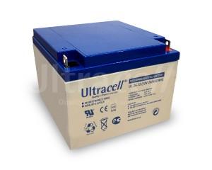 Ultracell UL26-12 12V 26Ah wiederaufladbare VRLA Batterie Akku VdS