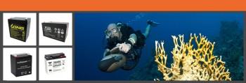 Unterwasserscooter Akkus
