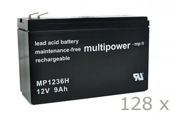 Batteriesatz für APC Silcon SL20KHB2 (hochstrom)