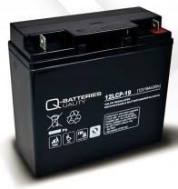 Akkupack für Scheuersaugmaschine Numatic TTB1840 - 2 x 12V 19Ah Batterie zyklenfest