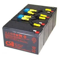 USV Ersatzakkuset für APC-RBC8 vormontiert mit Kabel und Stecker Industrieausrüsterqualität