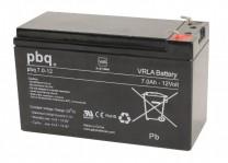 pbq 7.0-12 AGM Bleiakku - 12V 7Ah VdS Allzweckbatterie Faston 4,8 mm
