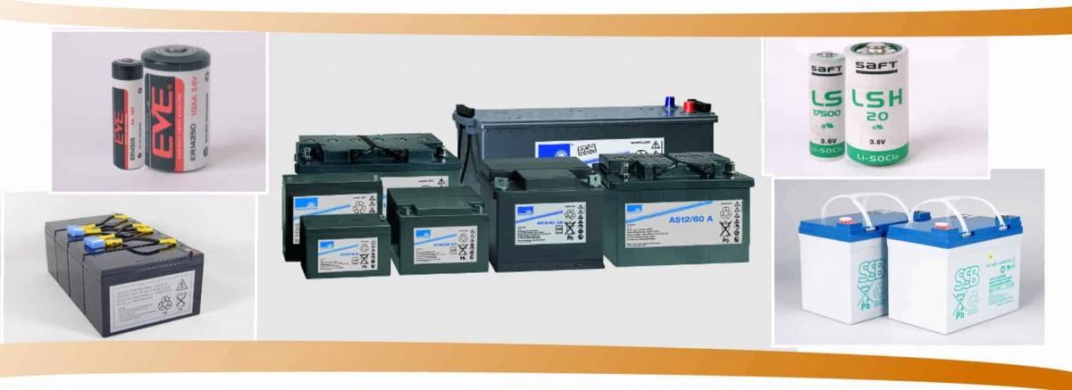 Akkus und Batterien führender Hersteller