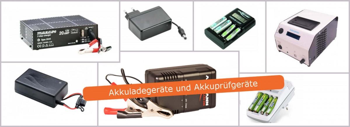 Akku Lade- und Prüfgeräte