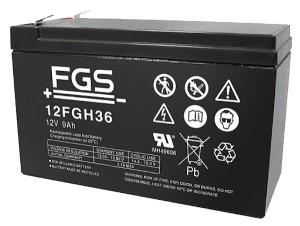 FGS 12FGH36 12V 9Ah Blei-Akku / AGM Batterie hochstrom