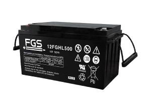 FGS 12FGHL500 12V 150Ah Blei-Akku / AGM Batterie Hochstrom Longlife