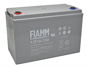 Fiamm 12FGL100 12V 100Ah Blei-Akku / AGM Batterie