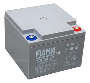 Fiamm 12FGL27 12V 27Ah Blei-Akku / AGM Batterie