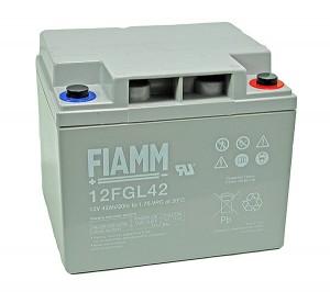 Fiamm 12FGL42 12V 42Ah Blei-Akku / AGM Batterie