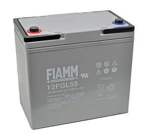 Fiamm 12FGL55 12V 55Ah Blei-Akku / AGM Batterie