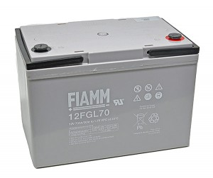 Fiamm 12FGL70 12V 70Ah Blei-Akku / AGM Batterie
