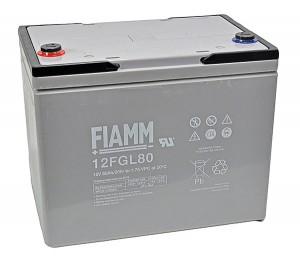 Fiamm 12FGL80 12V 80Ah Blei-Akku / AGM Batterie