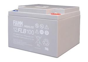 Fiamm 12FLB100 Highlite 12V 26Ah Blei-Akku / AGM Batterie