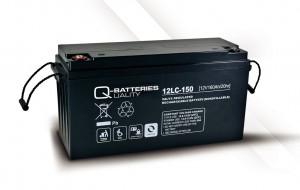 Q-Batteries 12LC-150 12V 160Ah Blei-Akku / AGM Batterie Zyklentyp