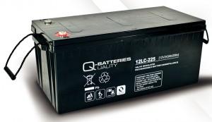 Q-Batteries 12LC-225 12V 243Ah Blei-Akku / AGM Batterie Zyklentyp