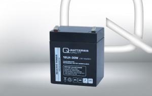 Q-Batteries 12LH-30W 12V 30W AGM Batterie Akku Hochstrom
