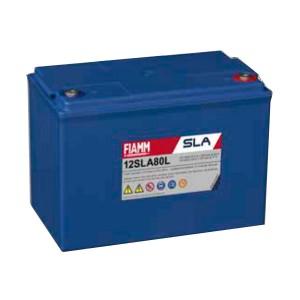 Fiamm 12SLA80L 12V 80Ah Blei-Akku / AGM Batterie