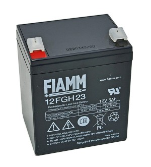 Fiamm 12FGH23 12V 5Ah Blei-Akku / AGM Batterie Hochstrom