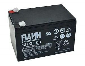 Fiamm 12FGH50 12V 12Ah Blei-Akku / AGM Batterie Hochstrom
