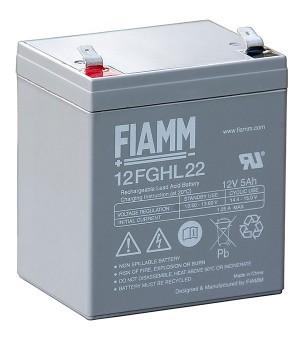 Fiamm 12FGHL22 12V 5,0Ah Blei-Akku / AGM Batterie Hochstrom Longlife
