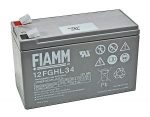 Fiamm 12FGHL34 12V 9Ah Blei-Akku / AGM Batterie Hochstrom Longlife